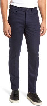 Manufacturing Five-Pocket Stretch Solid Wool & Cotton Trousers