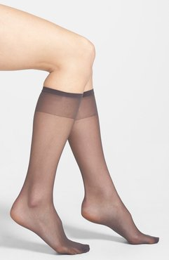 Plus Size Women's Nordstrom 3-Pack Sheer Knee Highs