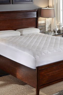 Rio Home Hotel Laundry All Season Twin Mattress Pad - White at Nordstrom Rack