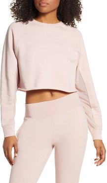 Alo Transcend Cutout Crop Pullover at Nordstrom Rack