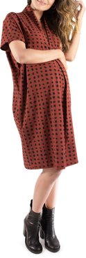 Ingrid & Isabel Everywhere Abstract Print Maternity Tunic Dress
