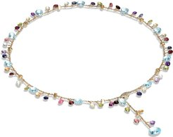 Paradise Semiprecious Stone Y-Necklace