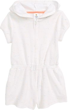 Girl's Tucker + Tate Terry Cover-Up Romper