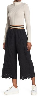 Scotch & Soda Broderie Pants with Sporty Elastic at Nordstrom Rack