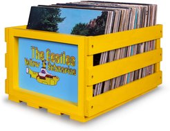 The Beatles Record Storage Crate