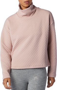 Nb Heat Loft Funnel Neck Quilted Top