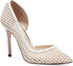 Pieree Woven Pointed Toe Pump