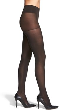 Plus Size Women's Dkny Opaque Control Top Tights