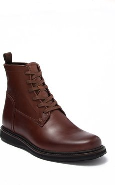 John Varvatos Star USA Star Leather Lace-Up Boot at Nordstrom Rack