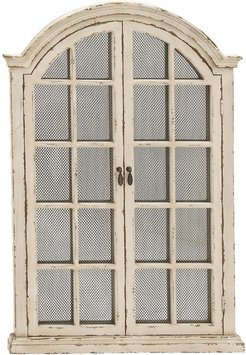 Willow Row Farmhouse Arched Wood Frame Wall Mirror at Nordstrom Rack