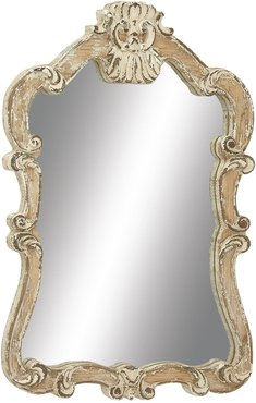 """Willow Row Wooden Wall Mirror - 39"""" x 25"""" at Nordstrom Rack"""