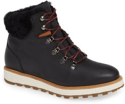 Alpine Water Resistant Genuine Shearling Lined Boot