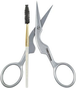 Brow Shaping Scissors & Brush Color