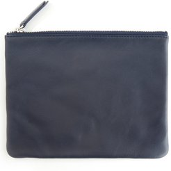 Royce Leather Travel Pouch - Blue