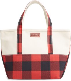 Boat & Tote High Bottom Canvas Tote - Red