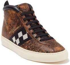 BALLY Vita Parcours Leather High Top Sneaker at Nordstrom Rack