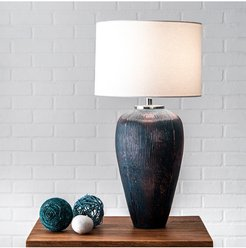 """nuLOOM 18"""" Gia Glass Canvas Shade Table Lamp at Nordstrom Rack"""
