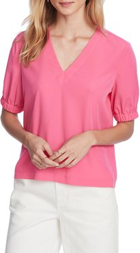 Banded Sleeve Blouse