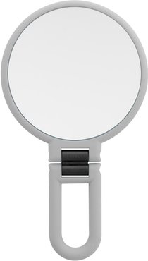 UPPER CANADA SOAPS Danielle Soft Touch Hand Held Foldable Mirror - Cool Grey at Nordstrom Rack