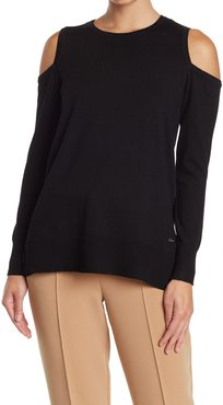 Catherine Catherine Malandrino Solid Cold Shoulder Pullover at Nordstrom Rack
