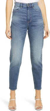 Janeh Ultra High Waist Ankle Mom Jeans