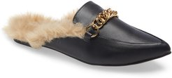 Foreseen Faux Fur Lined Mule