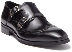 Karl Lagerfeld Paris Double Monk Strap Wingtip Loafer at Nordstrom Rack