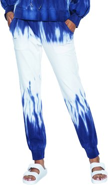 Paint Drip Graphic Joggers