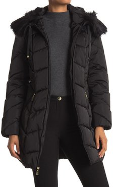 Tahari Brie Chevron Quilted Puffer at Nordstrom Rack
