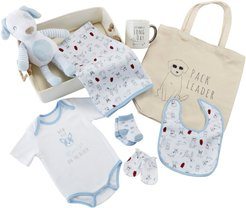 Infant Boy's Baby Aspen New Pup 9-Piece Baby Gift Set