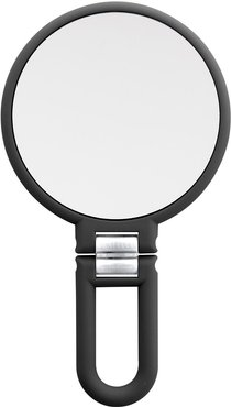 UPPER CANADA SOAPS Danielle Soft Touch Hand Held Foldable Mirror - Black at Nordstrom Rack
