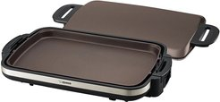 ZOJIRUSHI Gourmet Sizzler Electric Griddle - Stainless Brown at Nordstrom Rack