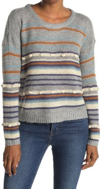 Heartloom Stripe Relaxed Fit Knit Sweater at Nordstrom Rack