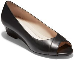 Cole Haan The Go-To Open Wedge Pump at Nordstrom Rack