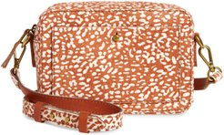 The Transport Camera Bag: Animal Spot Calf Hair Edition - Brown