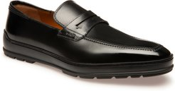 BALLY Relon Leather Penny Loafer at Nordstrom Rack
