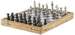 Willow Row Aluminum & Wood Chess Board at Nordstrom Rack