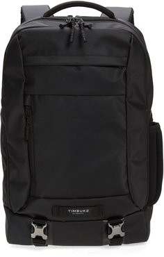 Authority Deluxe Water Resistant Backpack - Black