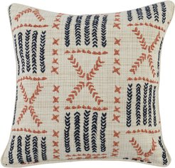 Ezra Embroidered Accent Pillow