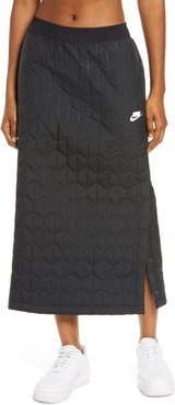 Sportswear Quilted Midi Skirt