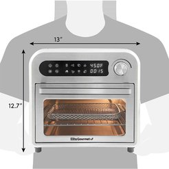 MAXI-MATIC Elite Gourmet Infinite-Use Air Fryer Oven, Stainless Steel at Nordstrom Rack