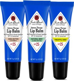 Full Size Intense Therapy Lip Balm Spf 25 Sunscreen Set