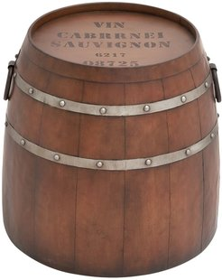 Willow Row Demi Wine Barrel Accent Table at Nordstrom Rack
