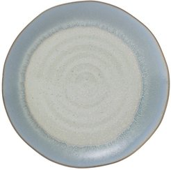 Creative Co-op Blue/Cream Round Porcelain Plate at Nordstrom Rack