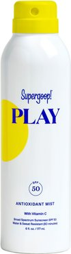 Supergoop! Play Antioxidant Body Mist Spf 50 Sunscreen, Size 6 oz
