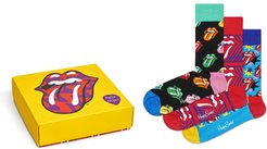 X Rolling Stones Assorted 3-Pack Socks Gift Box