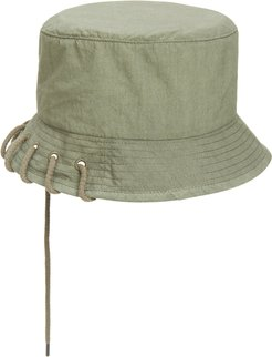 Laced Bucket Hat - Green