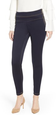 Double Stack Side Zip Jeggings