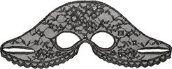 Le Soin Noir Lace Eye Mask