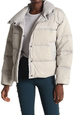 New Balance Select Cropped Heat Down Jacket at Nordstrom Rack